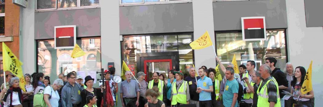 Vidéo de l'action unitaire anti-austérité 20-06-15